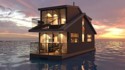 36ft custom built 2 storey Houseboat