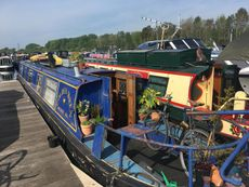 52' Cruiser Stern Narrowboat