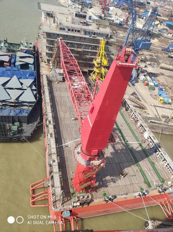 500pax Accommodation Barge
