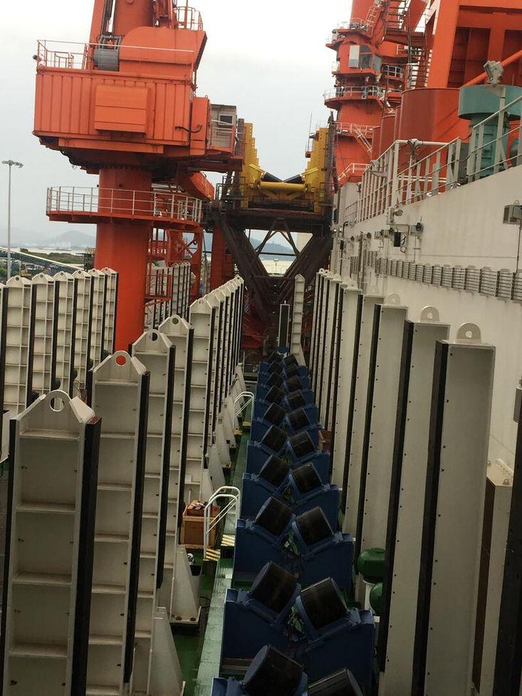 Pipe Laying Barge 2019