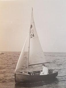 Tideway 12 Clinker Wooden Sailing Dinghy