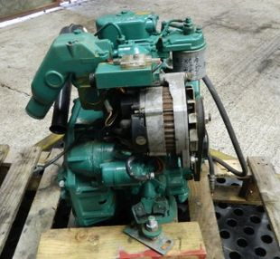 Volvo Penta 2001 Marine Diesel Engine Breaking For Spares