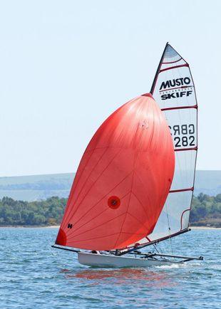 Musto Skiff GBR282