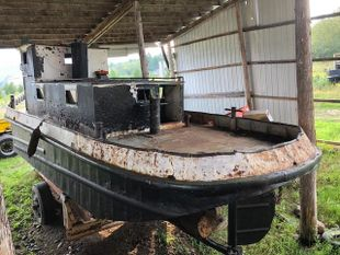 PROJECT BOAT - 1950 38' Russel Bros Tug