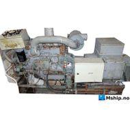 Mitsubishi 6D14 with Indar 64 kWA generator