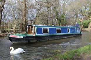 1991 Peter Nicholls Steelboats 42' Narrowboat