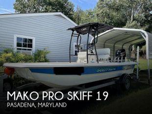 2017 Mako Pro Skiff 19