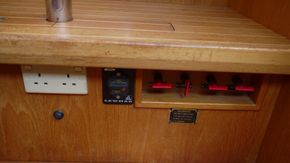 battery switches below table area