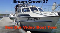 Broom Crown 37 1980 2X Perkins 145 HP