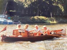 Victorian River Double Scull Gig