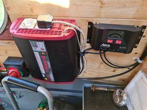 Inverter & solar panel controller
