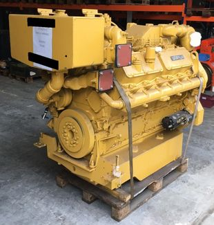 670 HP CATERPILLAR 3412DITA REBUILT MARINE ENGINES