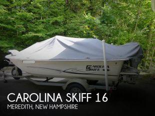2015 Carolina Skiff JVX 16
