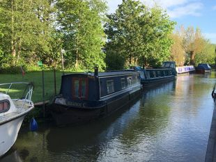 45' Traditional Narrow Boat.