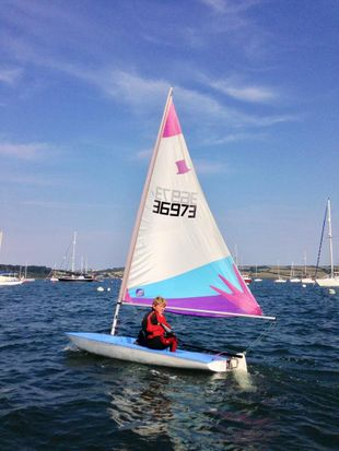 Topper Sailing Dinghy & Launching Trolle