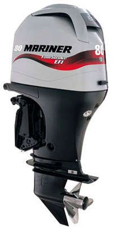 80HP Outboard Electric Start Long Shaft