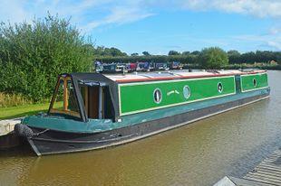58ft Trad Stern Narrowboat