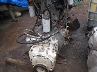 Cummins NH 855M with S/C gearbox
