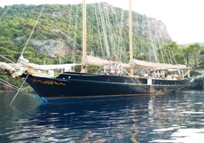 80ft. LUXURY GAFF SCHOONER built 1995 & re-fitted 2012