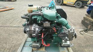 Volvo Penta D1-13B 13hp Marine Diesel Engine Package