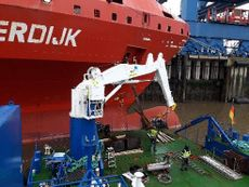 Double Ended RORO Deck Barge