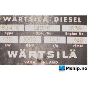 Wärtsilä 624TS    mship.no