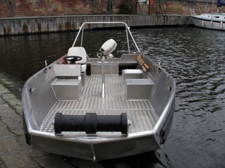 4.80m Alloy Utility Boat