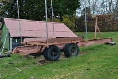 Heavy Duty Yard Trailer