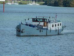 1909 Luxemotor Dutch  Barge