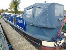 Enigma 2011 51ft A-Z, Cruiser Stern Narrowboat