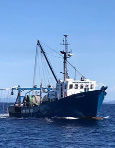 Commercial Fishing Trawler