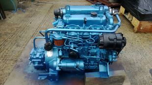 Thornycroft T108 47hp Marine Diesel Engine Package