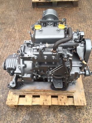 Yanmar 2QM20 Marine Diesel Engine Breaking For Spares