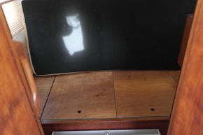 under back bunk