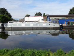 57X12ft 2 Bedroom Widebeam built 2018 by Viking canal boats ltd