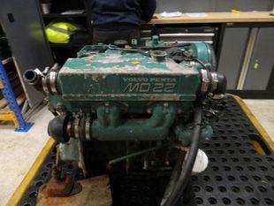 Volvo Penta MD22 Marine Diesel Engine Breaking For Spares