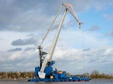 1969 Barge - Crane Barge For Charter