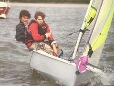 RS Feva XL, sail no 780