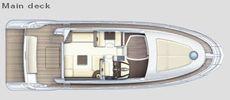 Azimut 47 Main Deck