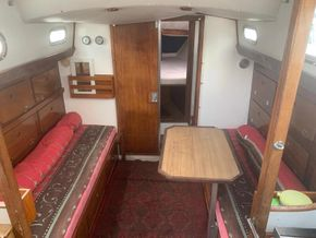 Interior with table - table also fits in cockpit