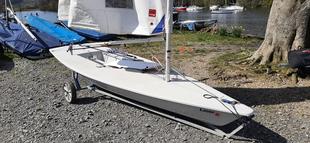 Laser 1 Sail number 197704