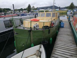 1938 ex ship lifeboat river cruiser