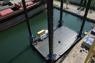 Modular Jack Up Barge Ready To Ship