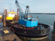 1968 Dredger - Grab Hopper Dredger For Sale & Charter