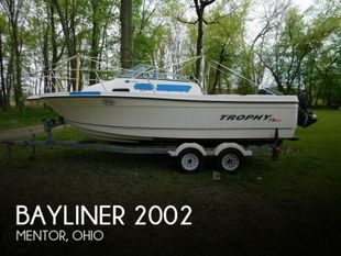 2005 Bayliner Trophy 2002 WA