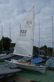 RS200 sail no.1122