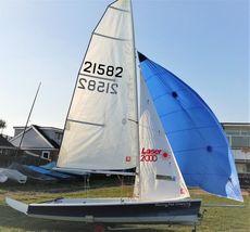 Laser 2000, 2005 hull.