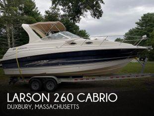 2007 Larson 260 Cabrio