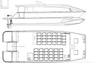 NEW BUILD - 14.26m Passenger Catamaran Kitset