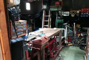 Engine room, workshop